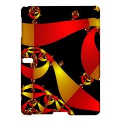 Fractal Ribbons Samsung Galaxy Tab S (10 5 ) Hardshell Case  by Simbadda
