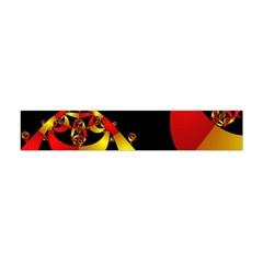 Fractal Ribbons Flano Scarf (mini) by Simbadda