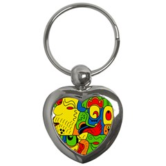 Mexico Key Chains (heart)  by Valentinaart