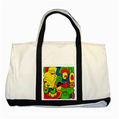 Mexico Two Tone Tote Bag by Valentinaart