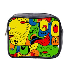 Mexico Mini Toiletries Bag 2 Side by Valentinaart
