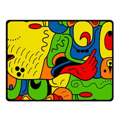 Mexico Fleece Blanket (small) by Valentinaart