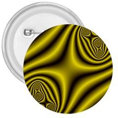Yellow Fractal 3  Buttons by Simbadda