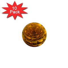 Yellow Flower 1  Mini Magnet (10 Pack)  by Simbadda