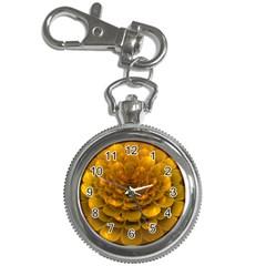 Yellow Flower Key Chain Watches by Simbadda