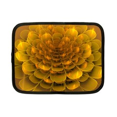 Yellow Flower Netbook Case (small)  by Simbadda