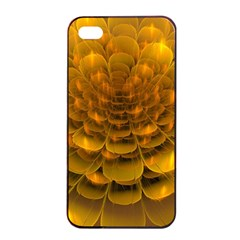 Yellow Flower Apple Iphone 4/4s Seamless Case (black) by Simbadda