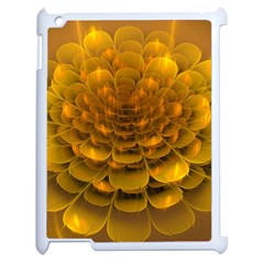 Yellow Flower Apple Ipad 2 Case (white)