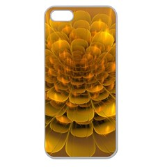 Yellow Flower Apple Seamless Iphone 5 Case (clear) by Simbadda