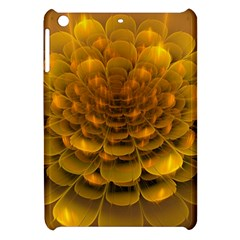 Yellow Flower Apple Ipad Mini Hardshell Case by Simbadda