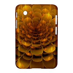 Yellow Flower Samsung Galaxy Tab 2 (7 ) P3100 Hardshell Case  by Simbadda