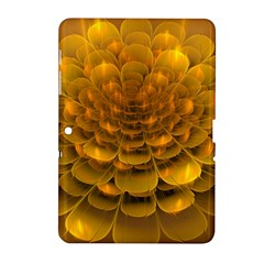 Yellow Flower Samsung Galaxy Tab 2 (10 1 ) P5100 Hardshell Case  by Simbadda