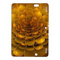 Yellow Flower Kindle Fire Hdx 8 9  Hardshell Case by Simbadda