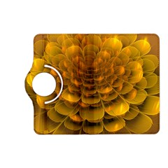 Yellow Flower Kindle Fire Hd (2013) Flip 360 Case by Simbadda