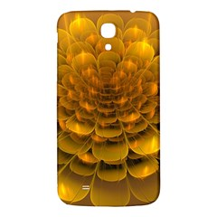 Yellow Flower Samsung Galaxy Mega I9200 Hardshell Back Case by Simbadda