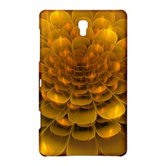 Yellow Flower Samsung Galaxy Tab S (8 4 ) Hardshell Case  by Simbadda
