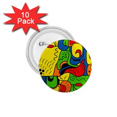 Mexico 1 75  Buttons (10 Pack) by Valentinaart