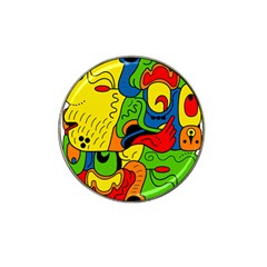 Mexico Hat Clip Ball Marker (4 Pack) by Valentinaart