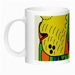 Mexico Night Luminous Mugs by Valentinaart