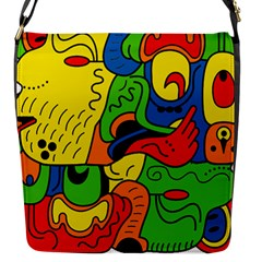 Mexico Flap Messenger Bag (s) by Valentinaart