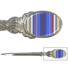 Colorful Stripes Letter Openers by Simbadda