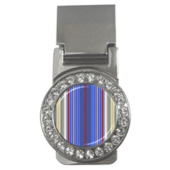 Colorful Stripes Money Clips (cz)  by Simbadda