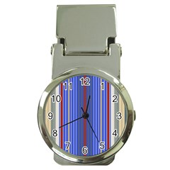 Colorful Stripes Money Clip Watches by Simbadda