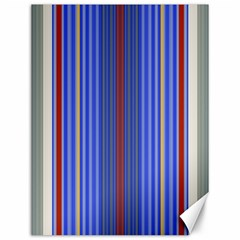 Colorful Stripes Canvas 12  X 16   by Simbadda