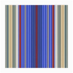 Colorful Stripes Medium Glasses Cloth (2 Side) by Simbadda