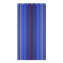 Colorful Stripes Shower Curtain 36  X 72  (stall)  by Simbadda