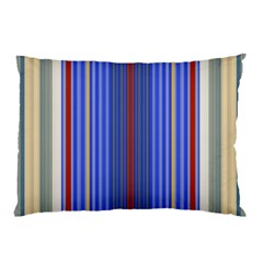 Colorful Stripes Pillow Case (two Sides) by Simbadda