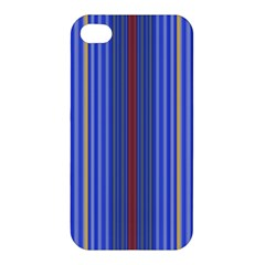 Colorful Stripes Apple Iphone 4/4s Hardshell Case by Simbadda