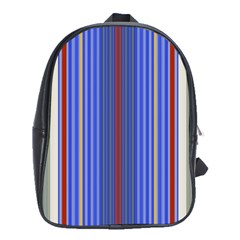 Colorful Stripes School Bags (xl)  by Simbadda