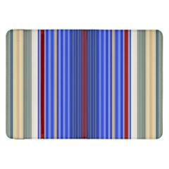 Colorful Stripes Samsung Galaxy Tab 8 9  P7300 Flip Case by Simbadda