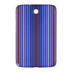 Colorful Stripes Samsung Galaxy Note 8 0 N5100 Hardshell Case  by Simbadda