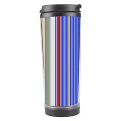 Colorful Stripes Travel Tumbler by Simbadda