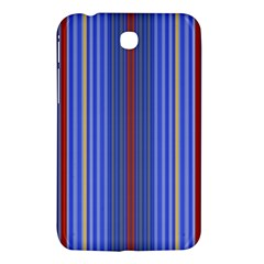 Colorful Stripes Samsung Galaxy Tab 3 (7 ) P3200 Hardshell Case  by Simbadda