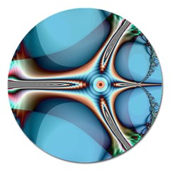 Fractal Beauty Magnet 5  (round) by Simbadda