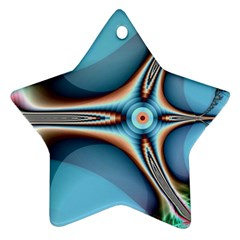 Fractal Beauty Star Ornament (two Sides) by Simbadda