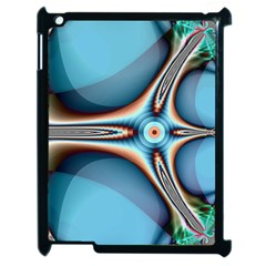 Fractal Beauty Apple Ipad 2 Case (black) by Simbadda