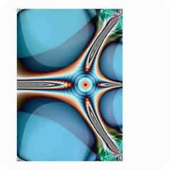 Fractal Beauty Small Garden Flag (two Sides) by Simbadda