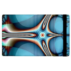 Fractal Beauty Apple Ipad 3/4 Flip Case by Simbadda
