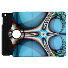 Fractal Beauty Apple Ipad Mini Flip 360 Case by Simbadda