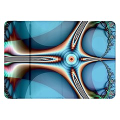 Fractal Beauty Samsung Galaxy Tab 8 9  P7300 Flip Case by Simbadda