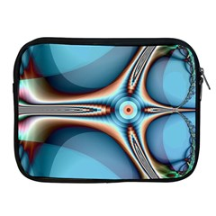 Fractal Beauty Apple Ipad 2/3/4 Zipper Cases by Simbadda