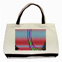 Fractal Tree Basic Tote Bag (two Sides) by Simbadda