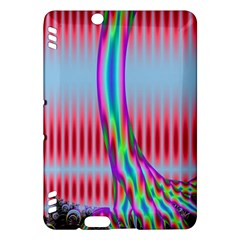 Fractal Tree Kindle Fire Hdx Hardshell Case by Simbadda