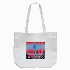 Fractal Tree Tote Bag (white) by Simbadda