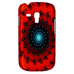 Red Fractal Spiral Galaxy S3 Mini by Simbadda