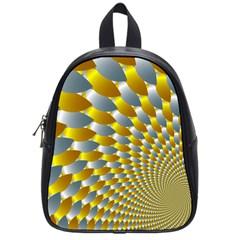 Fractal Spiral School Bags (small)  by Simbadda